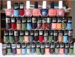 100 x Maybelline Assorted Nail Polish | Inc Color Show, Superstay | RRP £384